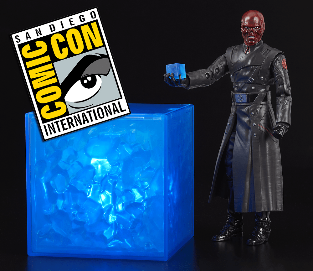 SDCC 2018: Hasbro Marvel Legends MCU Red Skull and Electronic Tesseract Revealed