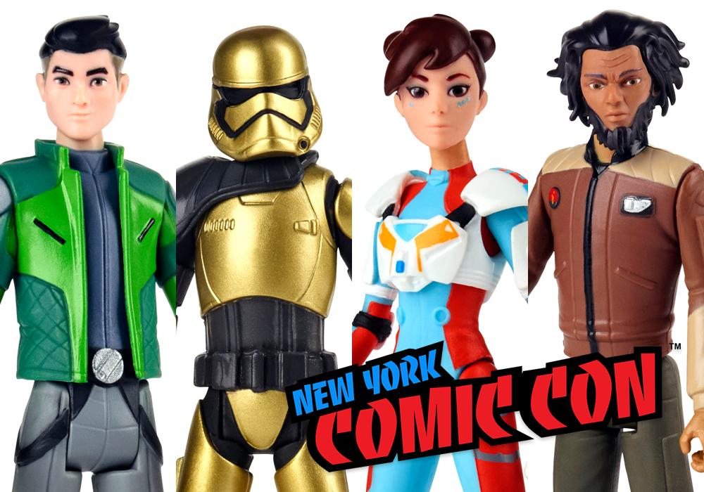 NYCC 2018: Hasbro Star Wars 'Resistance' Figures Revealed