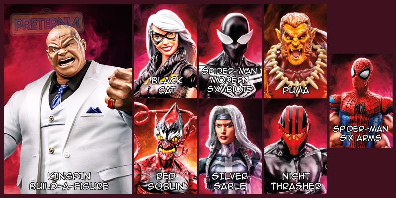 Marvel Legends Spider-Man Kingpin Build-A-Figure Wave
