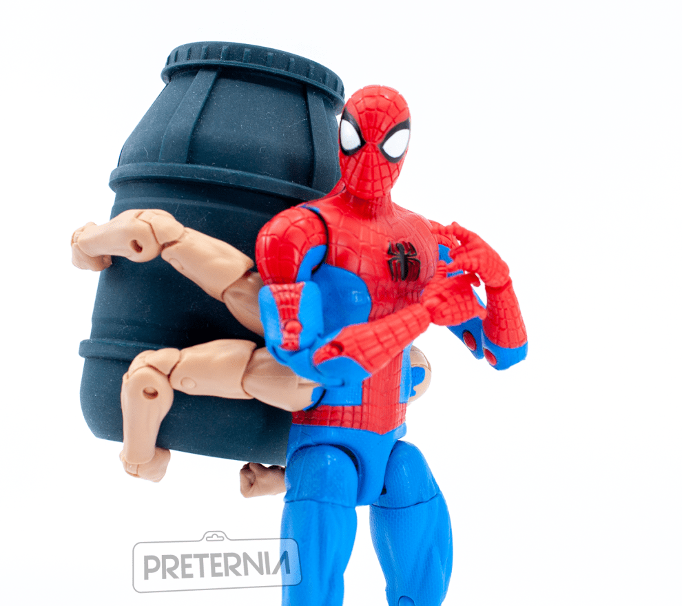 Marvel Legends Spider-Man Series Kingpin BAF Wave Six-Armed Spider-Man Review