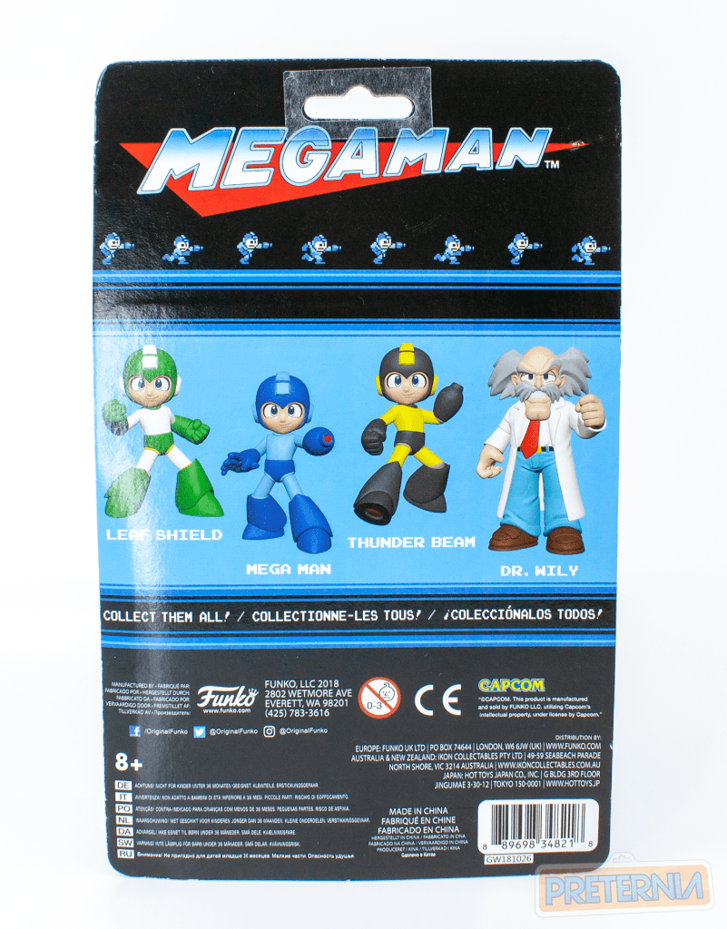Funko Mega Man Action Figures Dr. Wily and Leaf Shield Mega Man Review