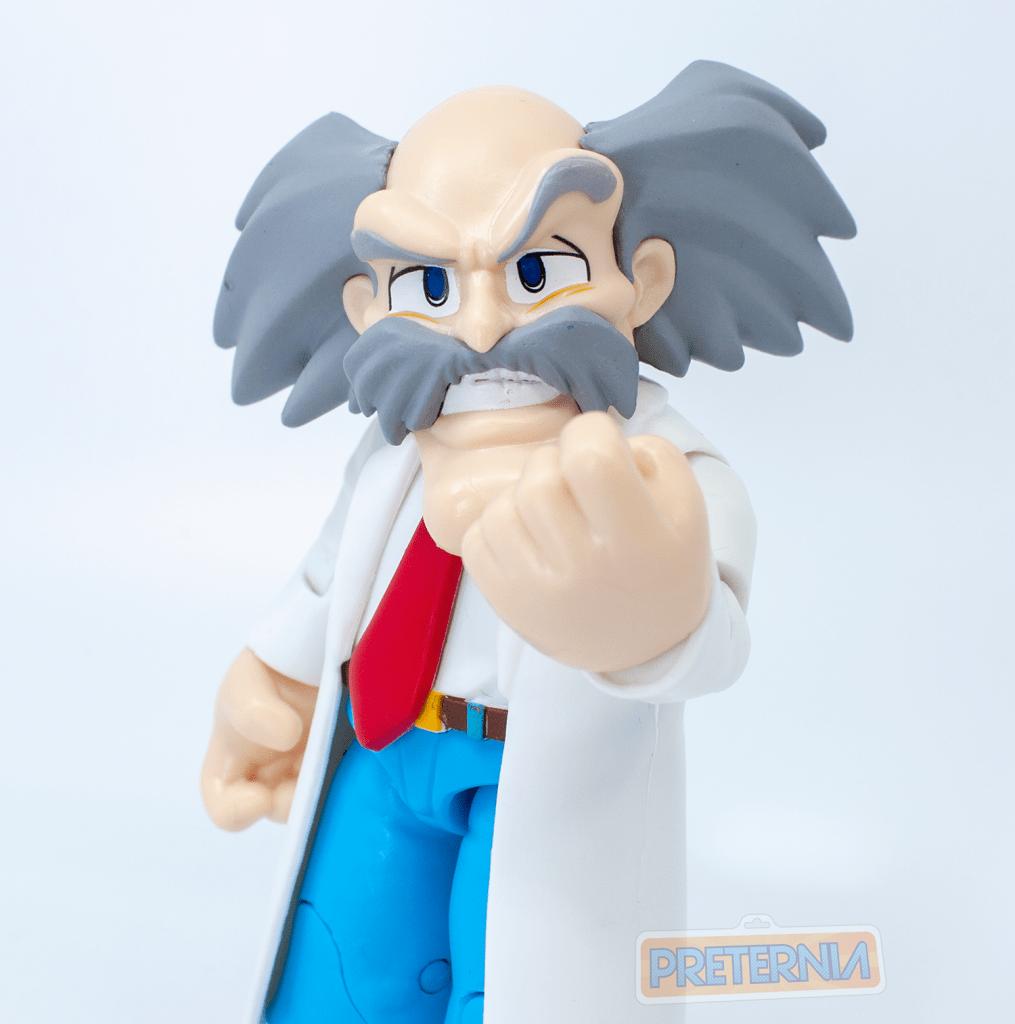 Funko Mega Man Action Figures Dr. Wily and Leaf Shield Mega Man Review