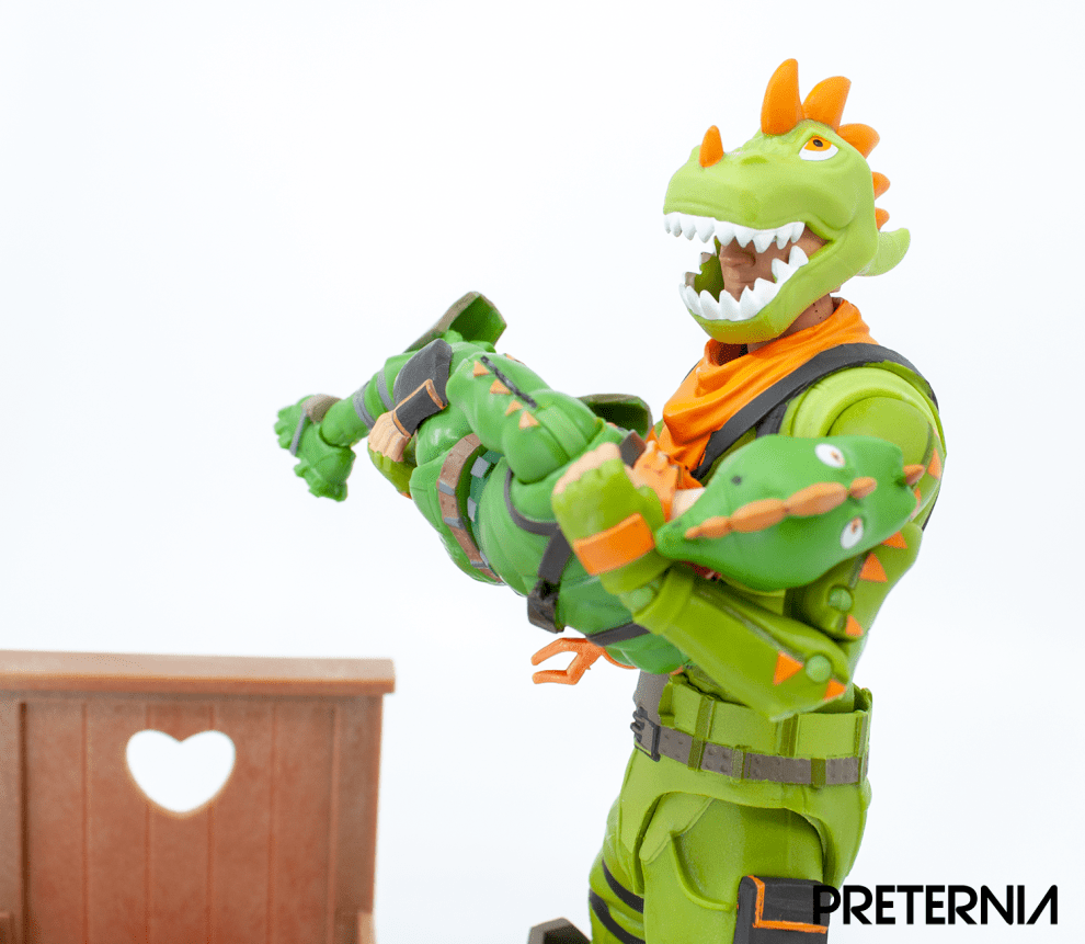 McFarlane Toys Fortnite 7-inch Rex Review