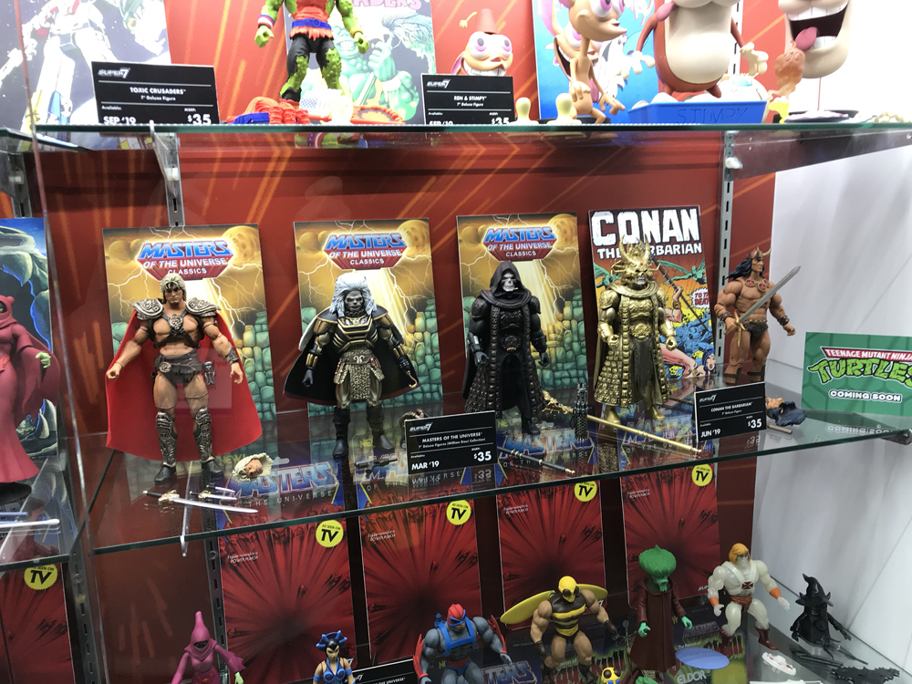 Toy Fair 2019 Super7 Masters of the Universe Classics 1987 He-Man Movie