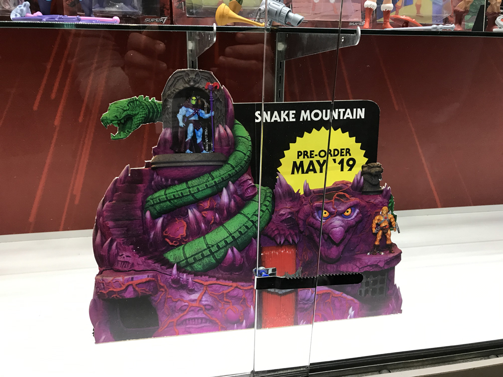 Toy Fair 2019 MOTUC Snake Mountain Super7