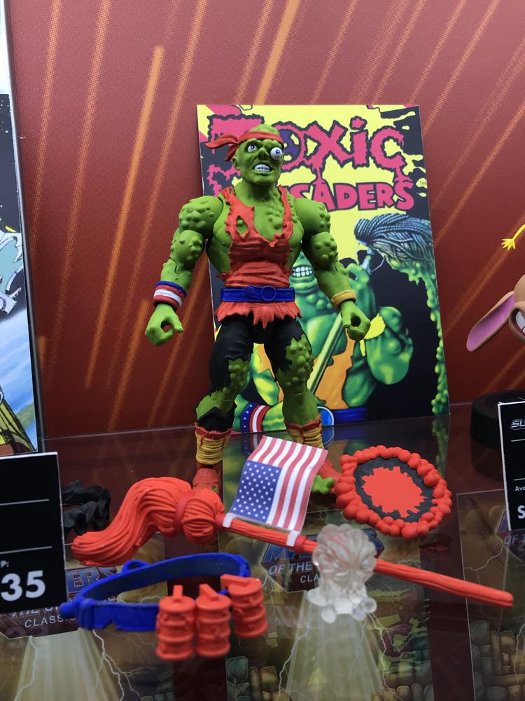 Toy Fair 2019 Super7 Toxie, TMNT, Voltron, Conan