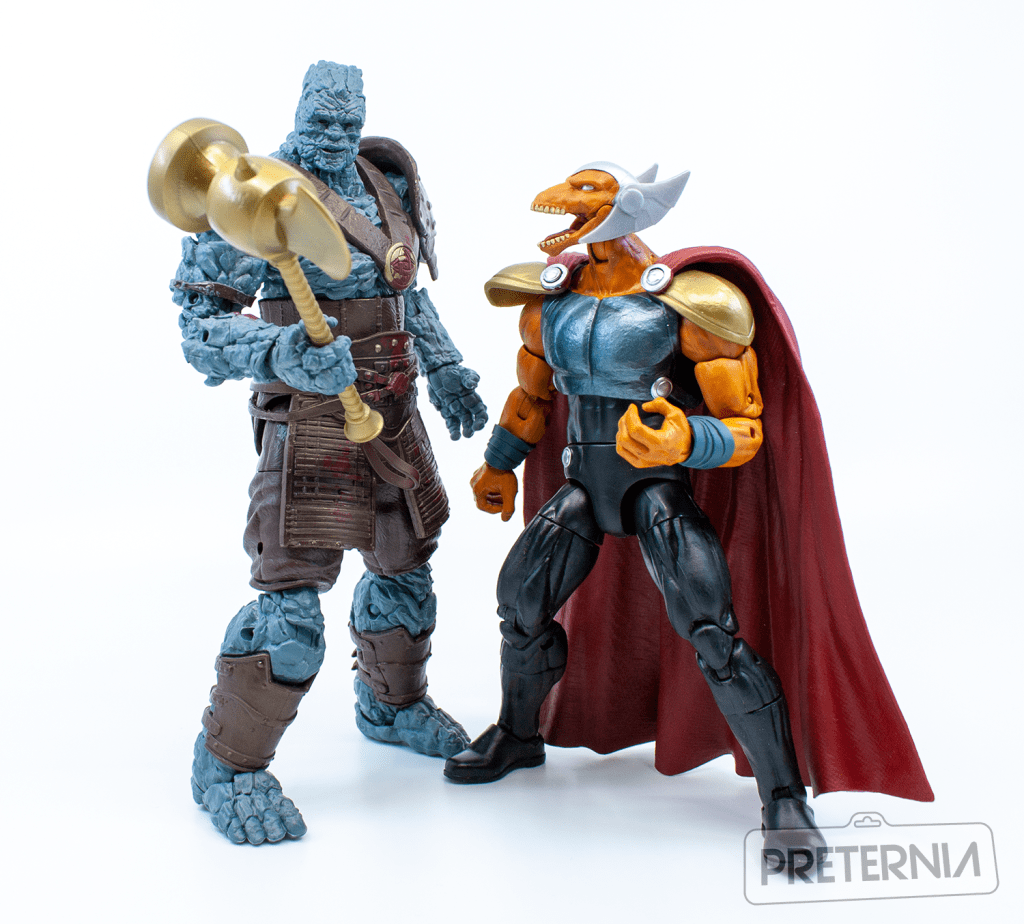 Marvel Legends 80th Anniversary Series Korg and Grandmaster 2-Pack Review