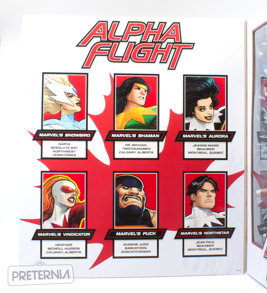 Quick Look #2: Hasbro Marvel Legends Alpha Flight Amazon Exclusive Box Set