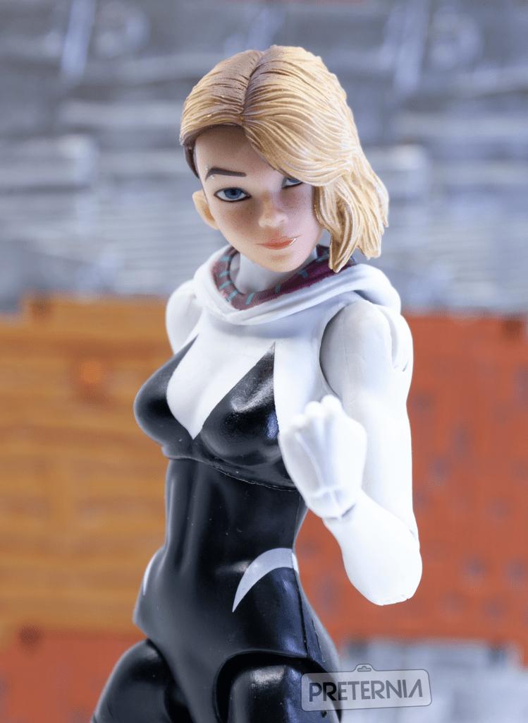 Quick Look #3: Nota Studio Spider-Gwen Head for Hasbro Marvel Legends or Revoltech