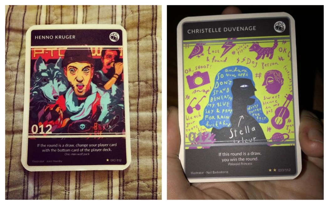 012 trading cards