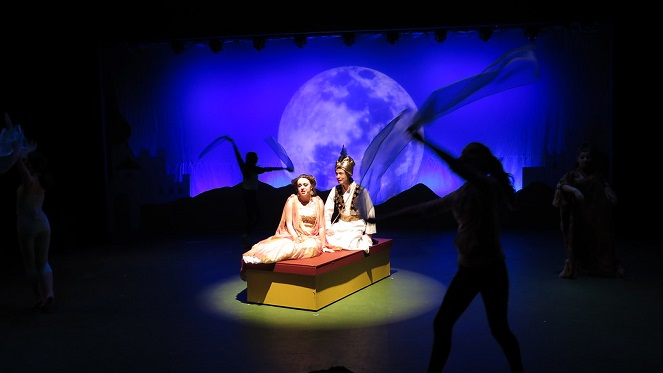 Aladdin At O.A.K. Youth Theatre