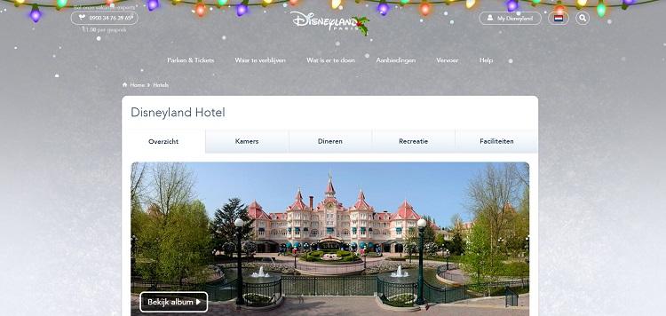 Hotel Disneyland Parijs