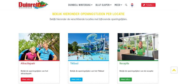 Openingstijden van Duinrell