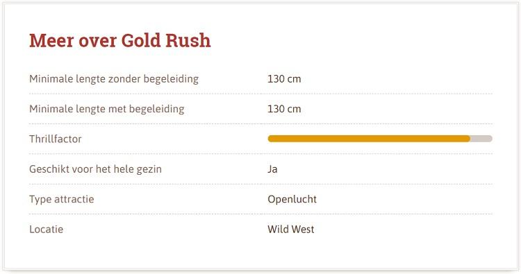 Gold Rush Slagharen