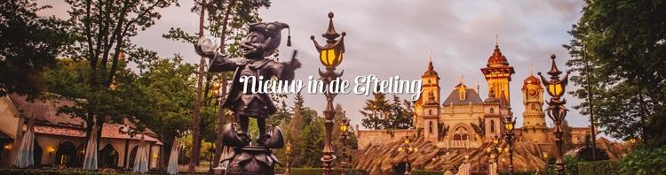 Nieuwe attracties Efteling