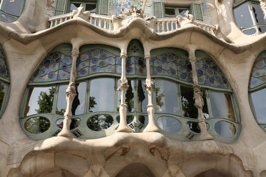 Gaudi's work in Barcelona - Casa Balto