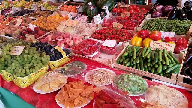 Photos of Venice - markets