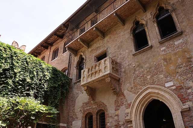 24 hours in Verona - Juliets Balcony