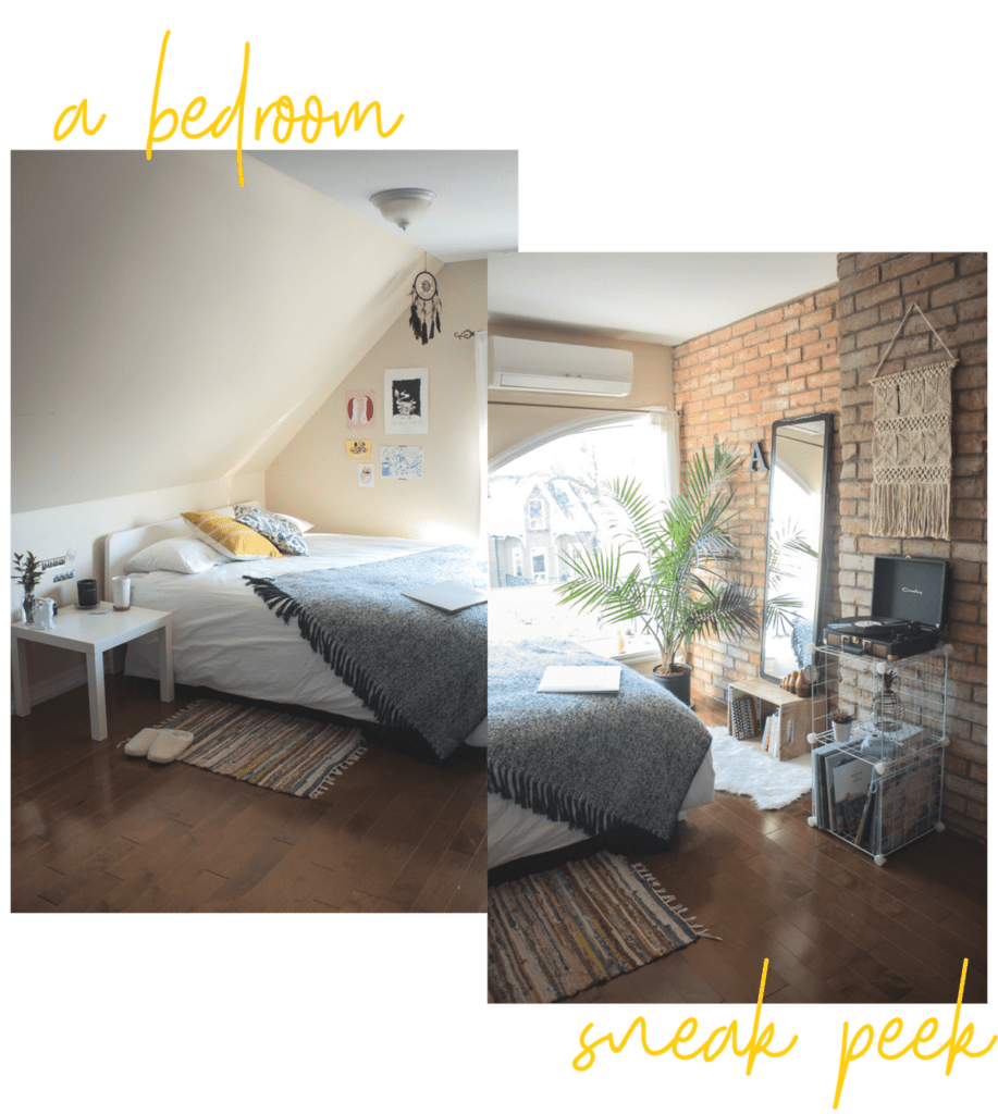 a bedroom sneak peek | prettynaive