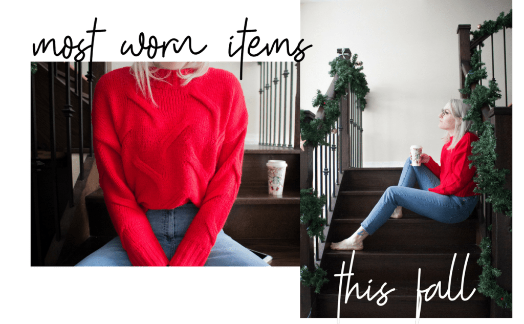 most worn items this fall | prettynaive