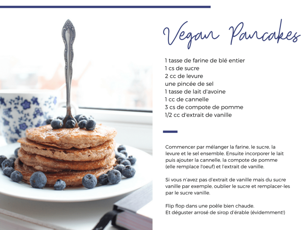 Vegan Pancakes Recipe | pretty naive