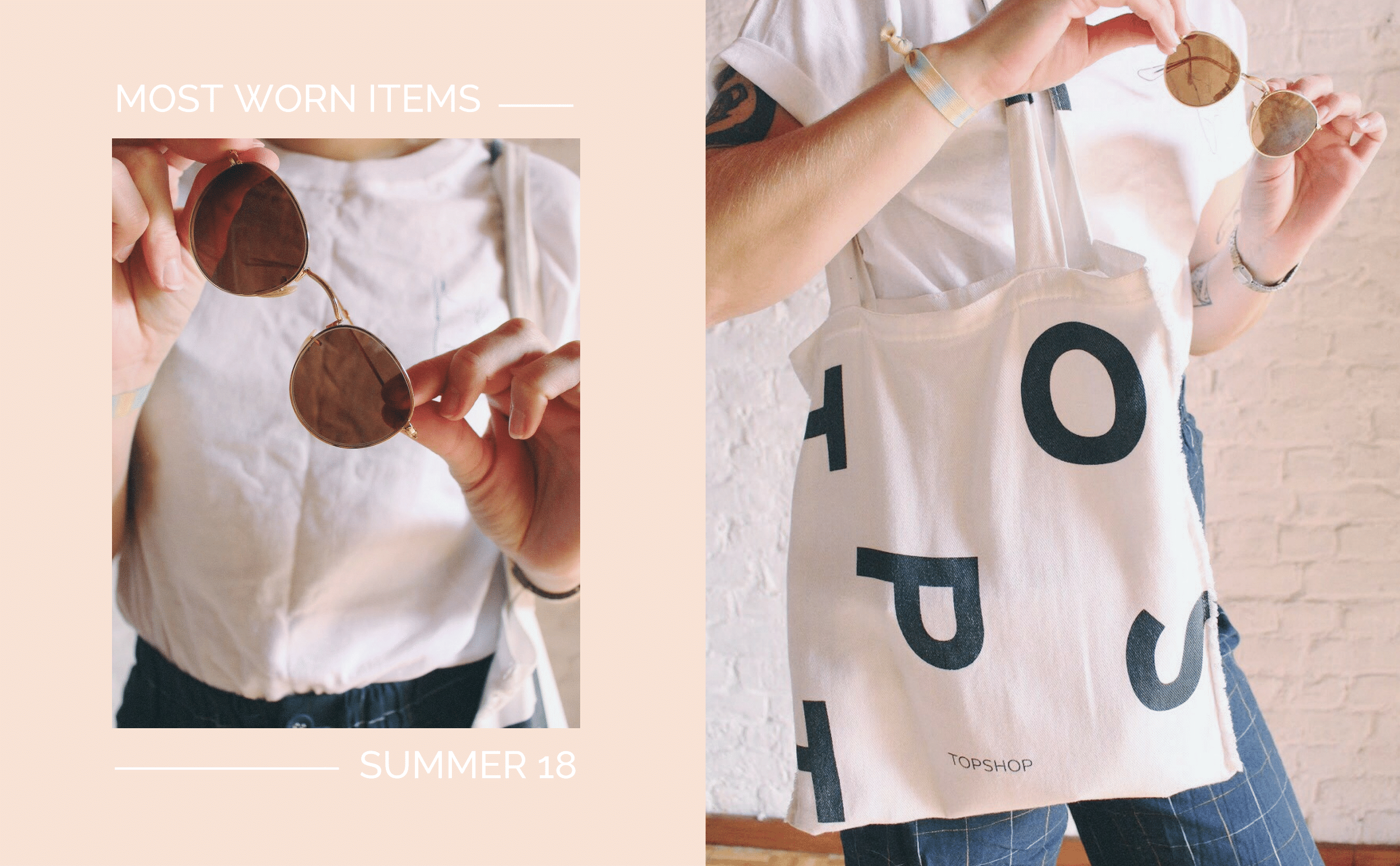 pretty naive | Most worn items this Summer