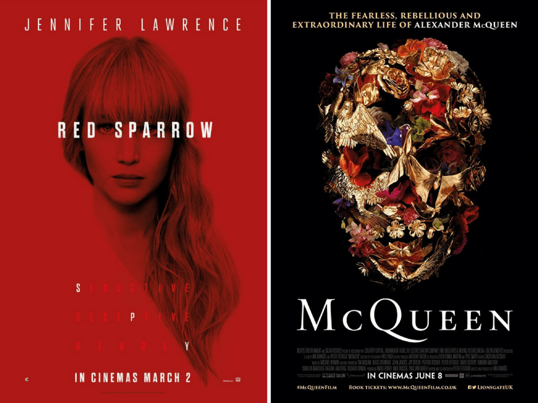 pretty naive | films favoris d'août (Red Sparrow + McQueen)
