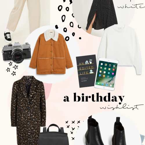 pretty naive | a birthday wishlist