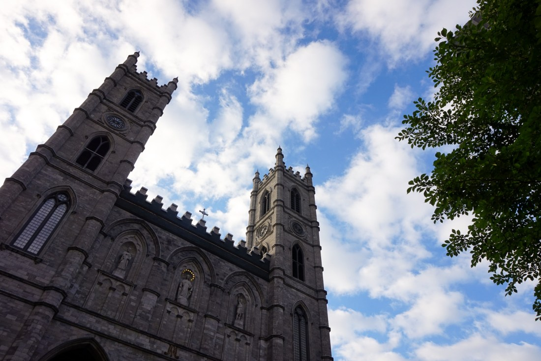 pretty naive | There's something about Montreal (Notre Dame)