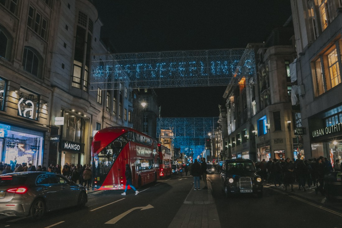 Christmas in London (Oxford Street)