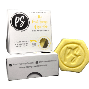 yellow shampoo bar
