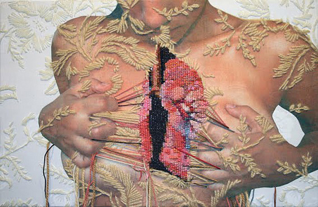 Embroidery by Ana Teresa Barboza