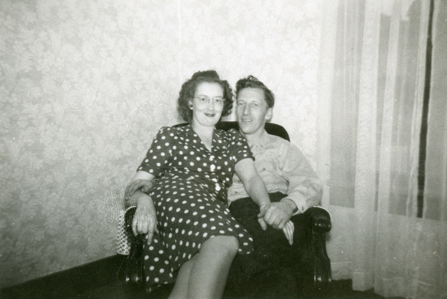Carl and Lucille Luhrs, Late 1940s