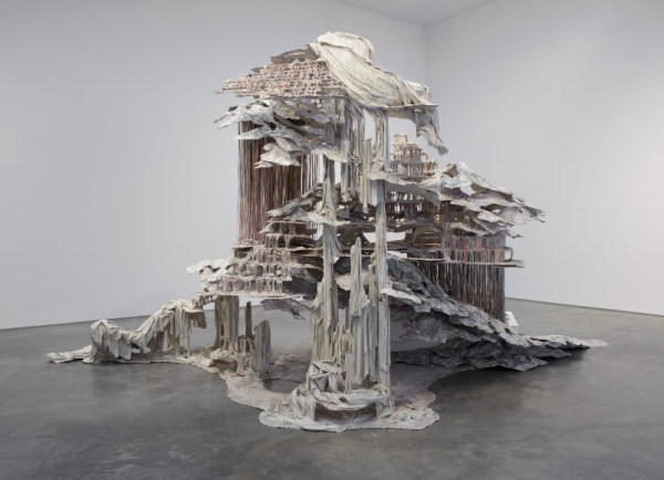Trace of a Fictional Third by Diana Al-Hadid