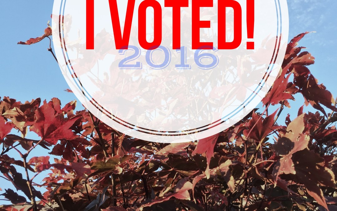 Let America be America Again: Election Day 2016