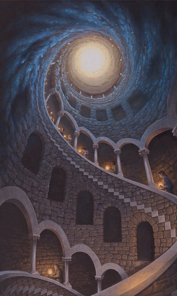"""""""Star Dust"""" by Rob Gonsalves"""