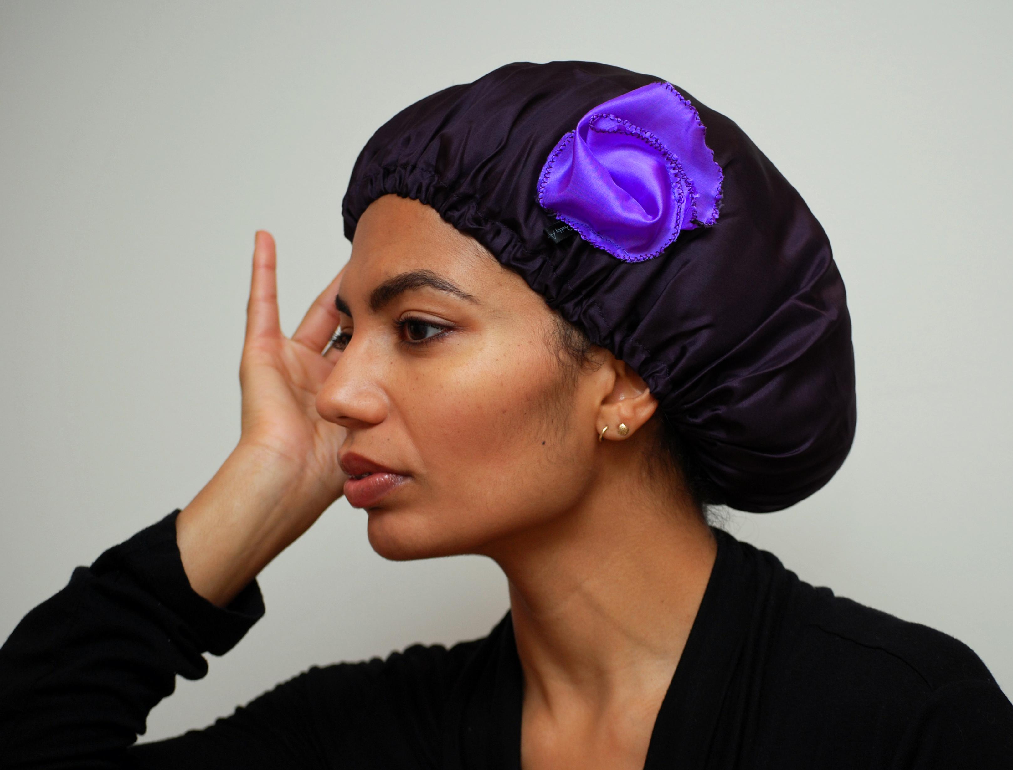 Image result for silk scarves for natural hair