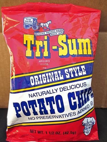 Tri-Sum Potato Chips