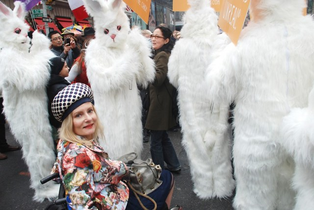 Magda and creepy bunnies