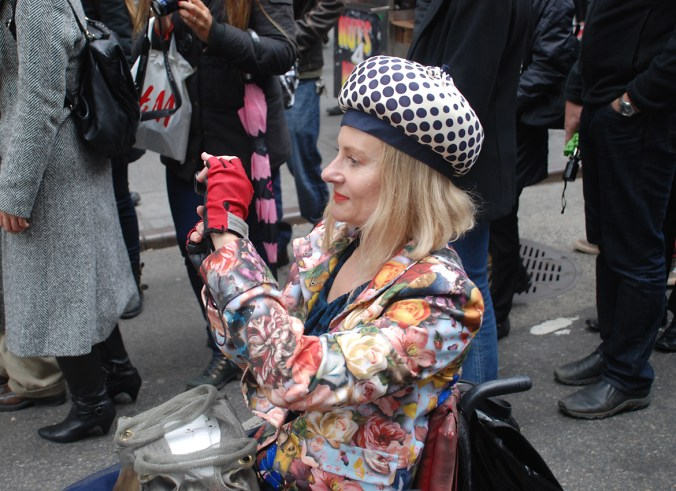 Magda at Easter Hat Parade NYC