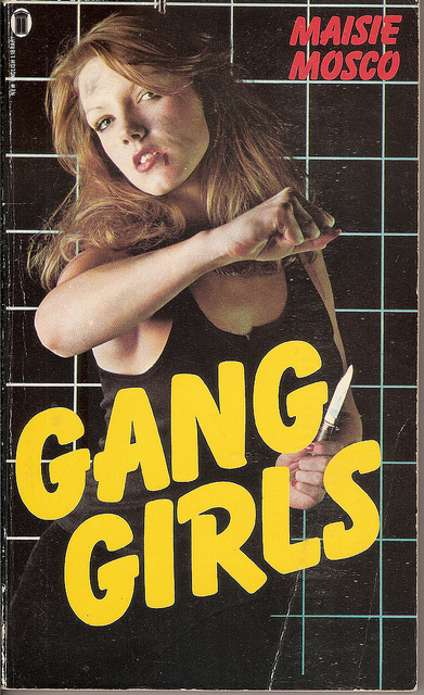 Gang Girls book cover by Maisie Mosco