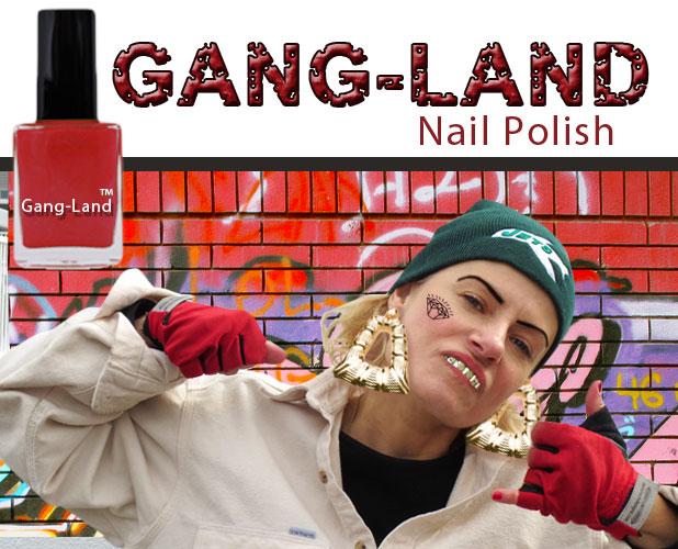 Gang Girl selling nail polish