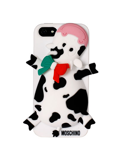 Moschino cow case iPhone cover