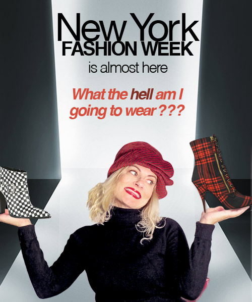 NY fashion week is almost here in NY