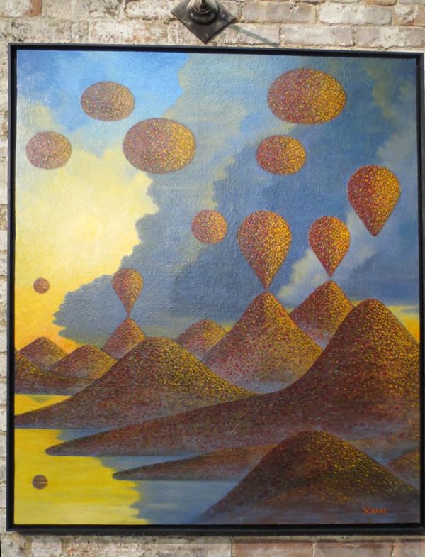 James Winans oil on canvas