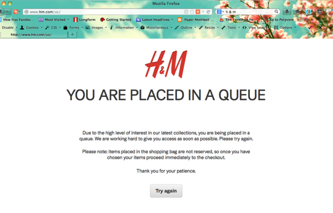 H&M placed in queue for Isabel Mirant
