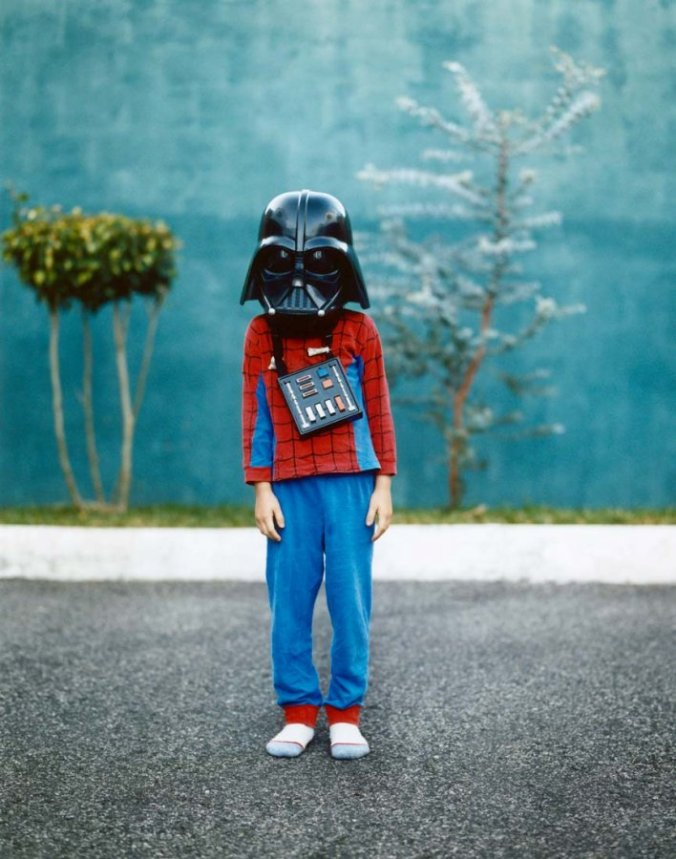 Darth Vadar Kid's costume