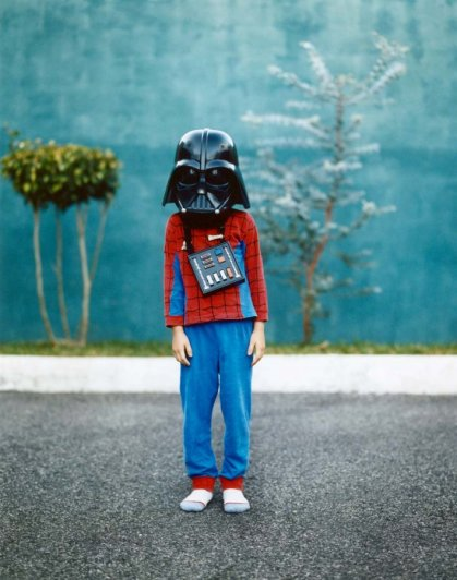 Darth Vadar Kid's costume