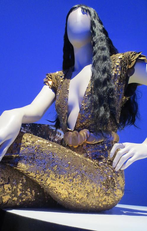 Beyonce mermaid gown Gaultier