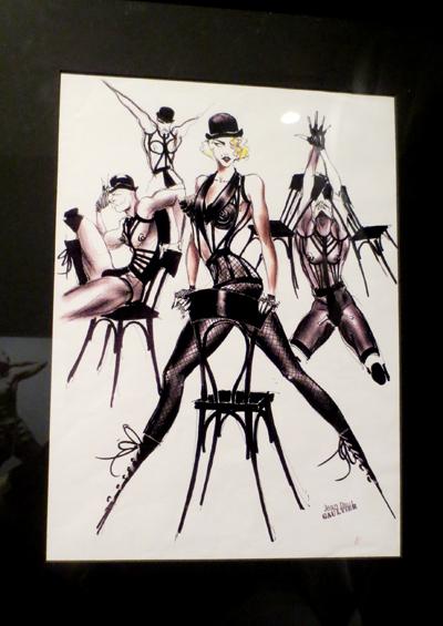 Madonna facsimile Gaultier tour